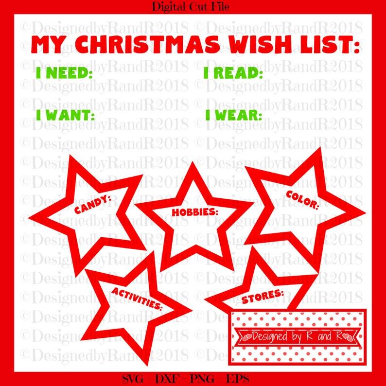 My Christmas Wish List.My Christmas Wish List Cut File Svg Cut File Digital Cut File Only Silhouette Cut File Dxf Cut File Svg Designs Christmas Sign