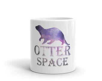 Otter Space Funny Cute Otter Animal Mug