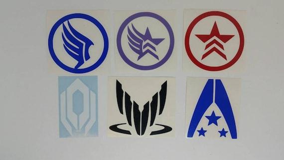 Mass Effect Renegade Vinyl Decal