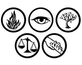 Divergent Faction Vinyl Decals - Available as singles or packs