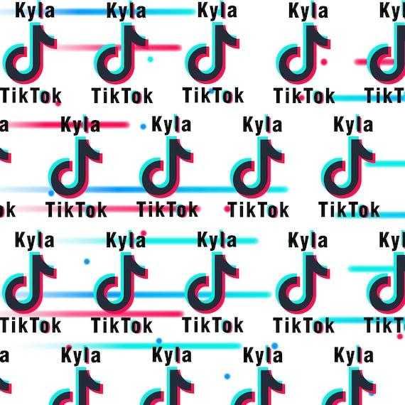 Large TikTok Personalised Boys Girls Children/'s Birthday Banner Youtube Tik Tok