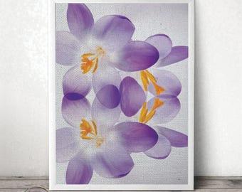 Flower Printable - Orchid Print - Botanical Print - Orchid Photography - Botanical Art - Nature Photography - Flower Poster - Nature Art