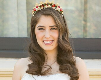 Secret Garden Bridal Headpiece