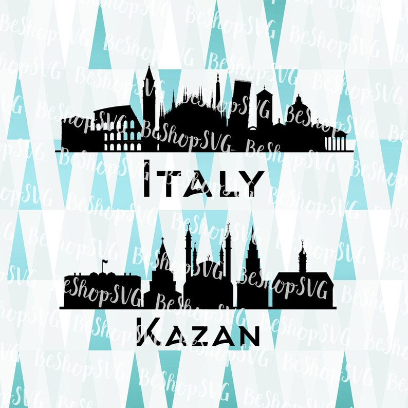 Italy SVG Kazan SVG Cities SVG Rome Svg Russia Svg image 0