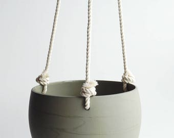 50% Off Ceiling Spora in Sage with Rope, 2nds Sale