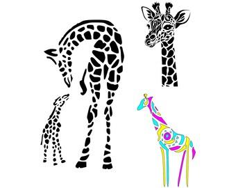 Giraffe Baby Door Hanger