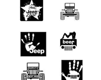 Jeep Cut File Etsy
