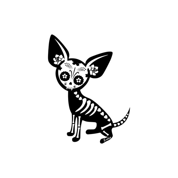Chihuahua Svg Dog Svg Zentangle Svg Clipart Cut Files Etsy
