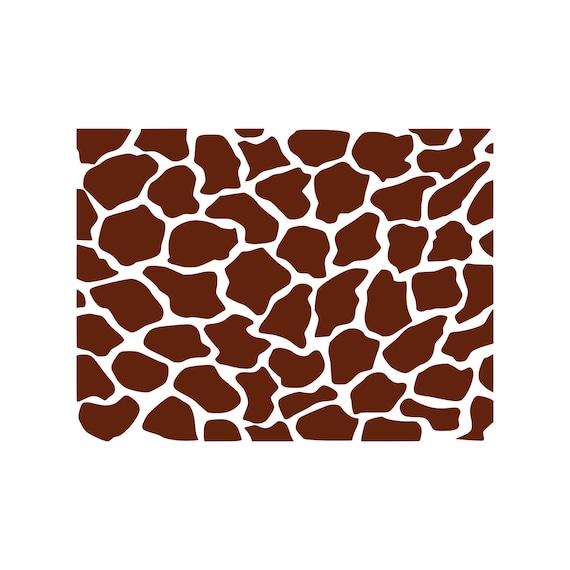 Giraffe Svg Giraffe Print Svg Giraffe Pattern Svg Cutting Etsy
