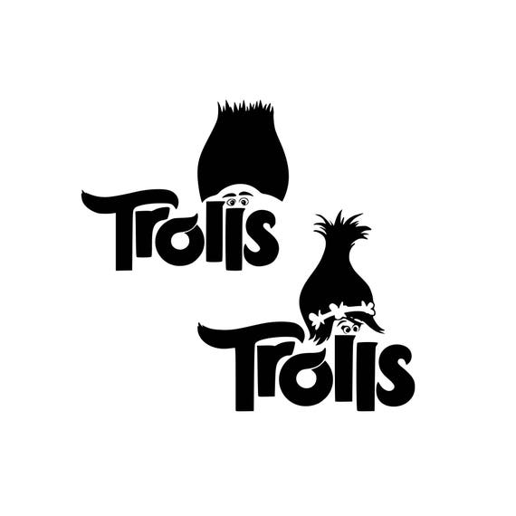 Trolls Svg Troll Hair Svg Disney Svg Disney World Svg Cartoon Etsy