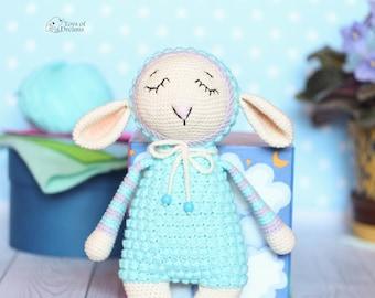 Crochet Lamb, Crochet Sheep, Stuffed Lamb Toy, Stuffed animals, Amigurumi Lamb, Sheep Stuffed Animal, Lamb Doll, Baby Shower Gift, Soft Toy