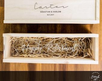 Personalised Winebox | Custom Logo Wine Box