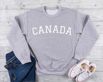 f04b3406252 CANADA Unisex Crewneck Sweatshirt