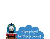 Thomas the Train Snapchat Geofilter, Train filter, train birthday,