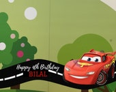 Disney Cars Birthday Snapchat Filter, Disney birthday geofilter, Snapchat Cars Geofilter, Birthday boy, Disney Pixar Custom Geofilter
