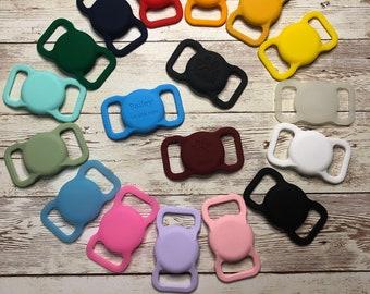 AirTag cover dog collar or harness, AirTag case, AirTag holder, AirTag case holder collar, AirTag personalized, Pet Air Tag case, Air Tag