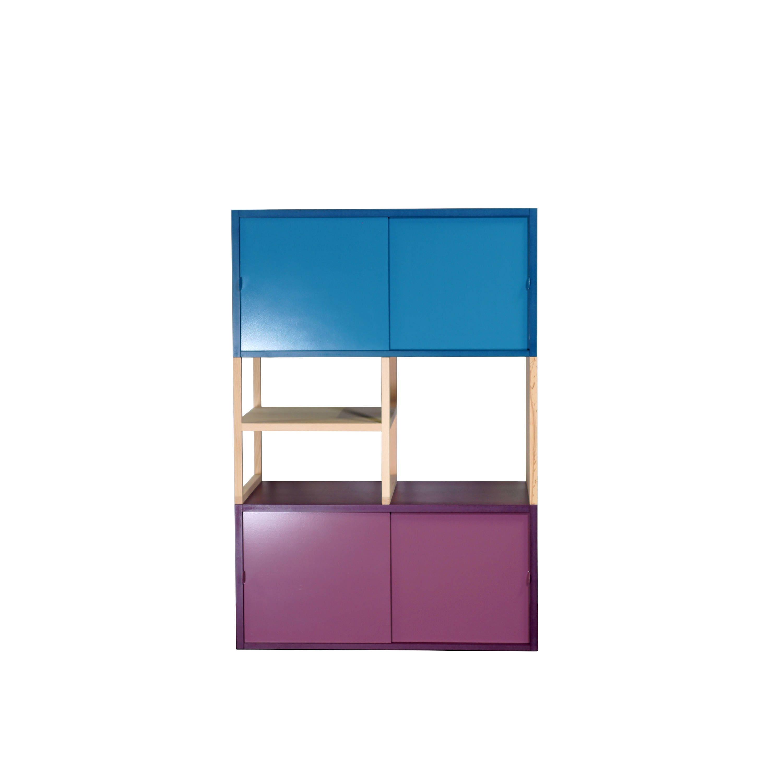 kommode mit schiebet ren etsy. Black Bedroom Furniture Sets. Home Design Ideas