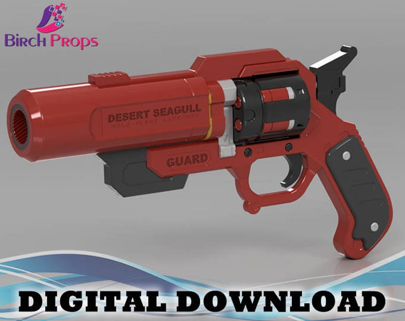 Lifeguard McCree Peacekeeper Overwatch - Download Only (STL 3D Files)