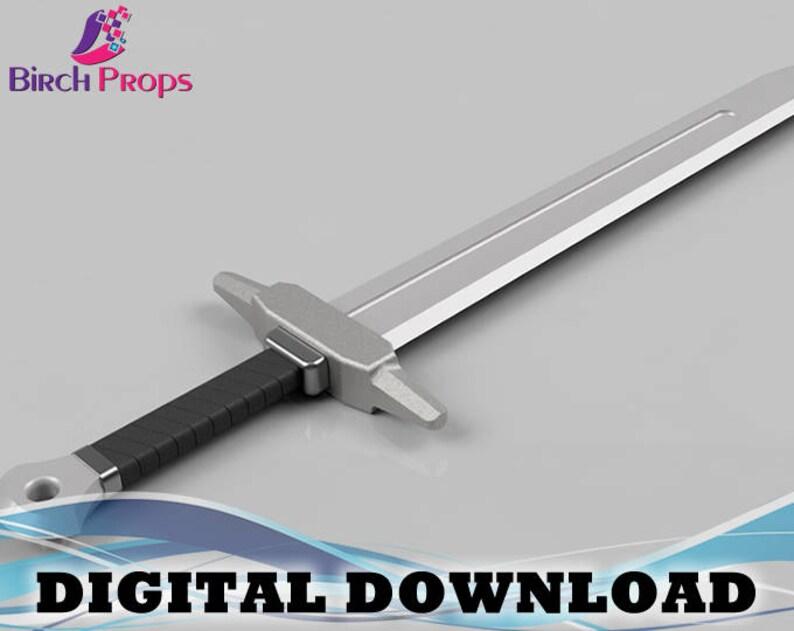 Ordon Sword, The Legend of Zelda: Twilight Princess - Download Only (STL 3D  Files)