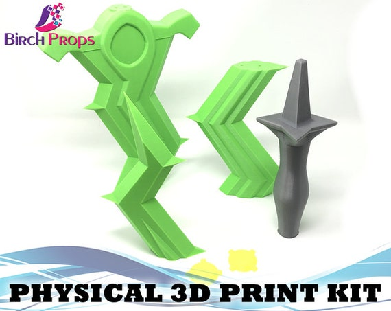 Fire Emblem Three Houses Levin Sword Sword 3D Printed Cosplay Kit