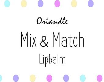 Mix and Match   Lipbalm