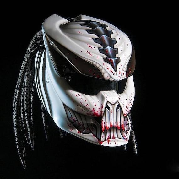 2018 Custom Predator Real Motorcycle Helmet Designs 6 Etsy