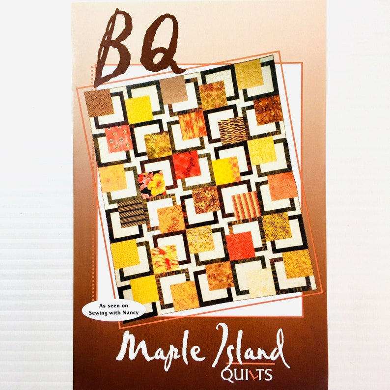 Modern Geometric Quilt Pattern | BQ by Debbie Bowles for Maple Island  Quilts MIQ #705