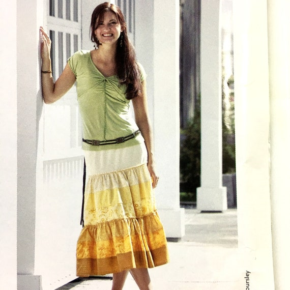 The Bohemian Skirt Sewing Pattern by Leslie Gladman for | Etsy