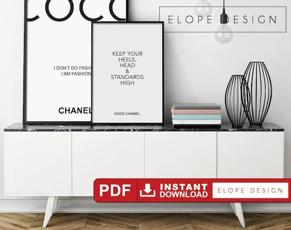 coco chanel interior design quotes images