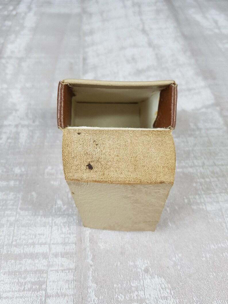 Leather Case Small Case Small Pencil Case Storage Box Jewelry Box