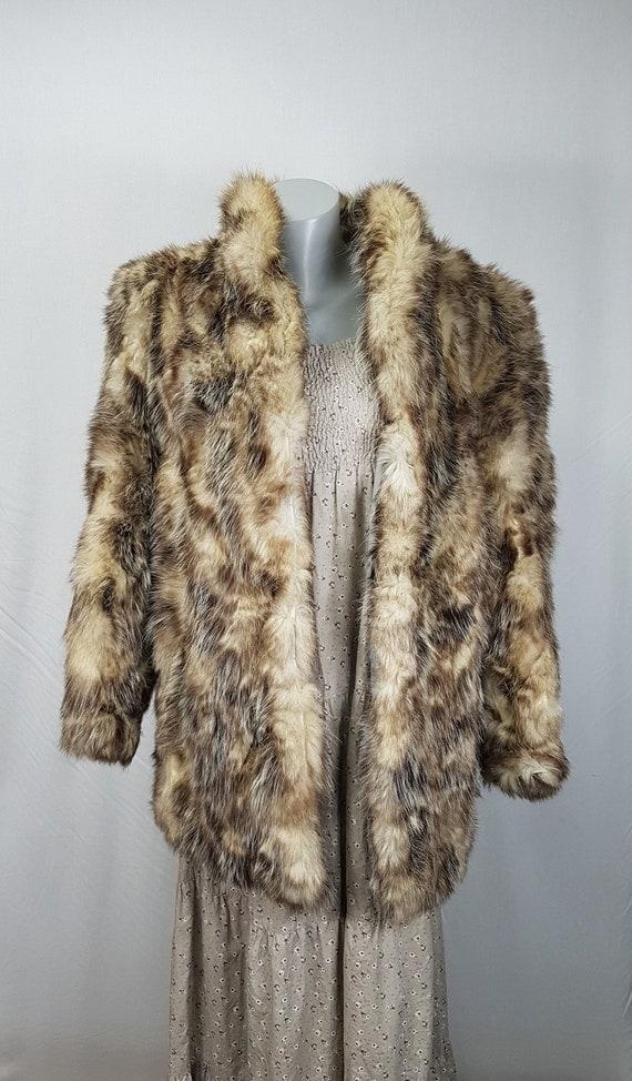 Vintage Leather Coat - Women's Leather Coat - Leat