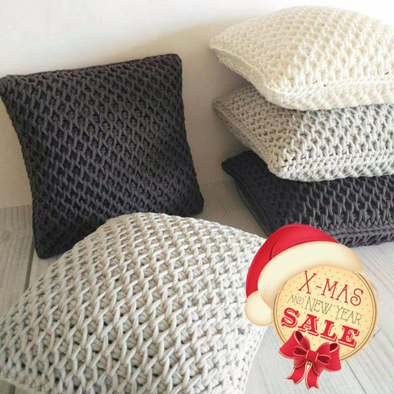 Ottomans for home Super soft floor cushions Huge seat cushions Soft furniture. Decor for the home