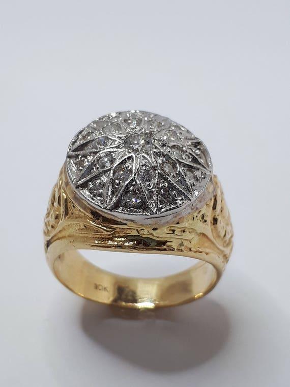 bague diamant homme a vendre