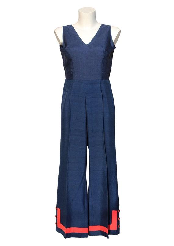 Vintage 1970's silk jumpsuit