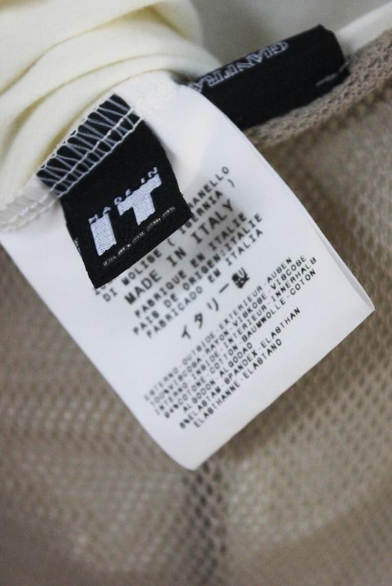 Gianfranco Ferré Jeans 90's nude mesh slip maxi d… - image 6