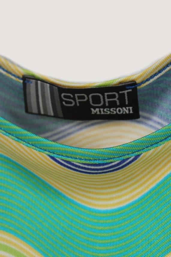 Missoni Sport 90's rayon multicolor slip dress - image 2