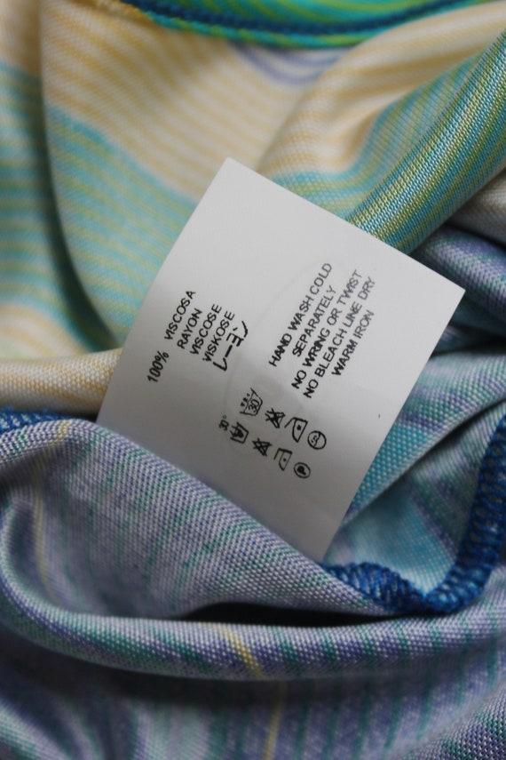 Missoni Sport 90's rayon multicolor slip dress - image 6