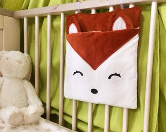 Fox Pajama bag, range deco Fox blanket