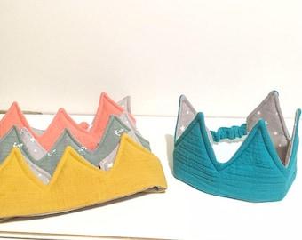 fabric Crown, Princess, crown prince Crown, Kings Crown.