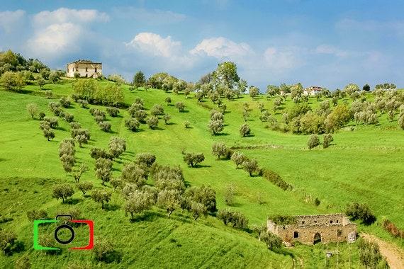 Photography Of Italian Landscape Basilicata Region Etsy