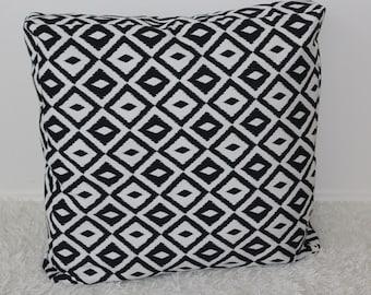 Floor Pillow, Meditation Pillow, Black and White, Pouf, Giant Floor Pillow, Pillow, Bean bag, Modern Decor, Floor Cushion