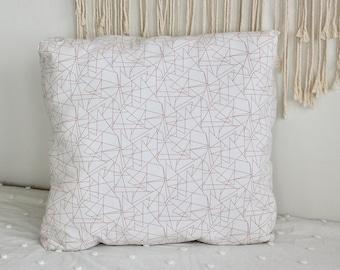 Floor Pillow, Meditation Pillow, Cream and Orange, Nate Berkus, Pouf, Giant Floor Pillow, Pillow, Bean bag, Modern Decor, Floor Cushion