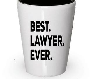 Lawyer Shot Glass Best Ever Gift For Birthday Christmas Present