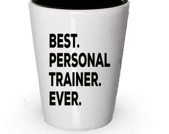 personal trainer shot glass best personal trainer ever personal trainer gift gift for personal trainer birthday gift christmas present