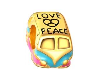 Hippie VW Kombi Combi truck