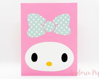 My Melody Handmade Card, My Melody, Melody, Hello Kitty, Sanrio, My Melody Birthday