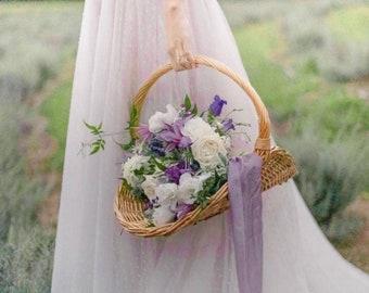 Handdyed silk ribbons, natural dyed ribbons, bridal ribbons, silk ribbons, dyed silk ribbons, lavender silk ribbons, floral ribbons, ribbon