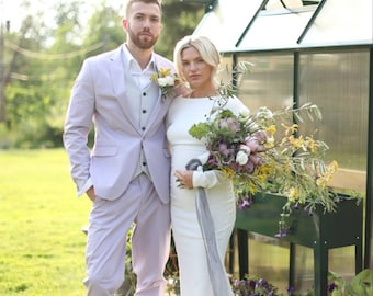 Hand dyed silk ribbons, natural dyed ribbons, bridal ribbons, silk ribbons, dyed silk ribbons, silver ribbons, gray ribbons, floral ribbon