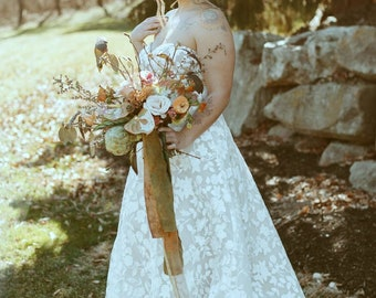 Eco printed ribbon, eco dyed ribbon, natural dyed ribbon, hand dyed ribbon, flat lay ribbon, invitation ribbon, wedding ribbon, plant dye