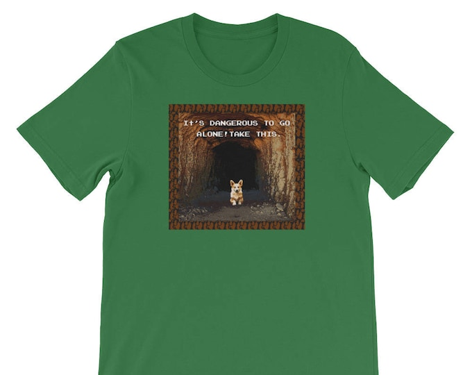 Legend of Zelda Inspired Corgi T-Shirt